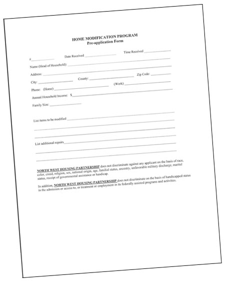 nwhp forms
